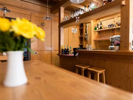 Bar dell'albergo Dolomiti di Claut